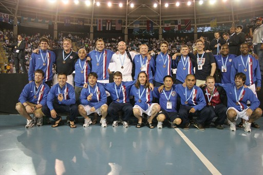US Fustal National Team with Bronze at CONCACAF June 2008